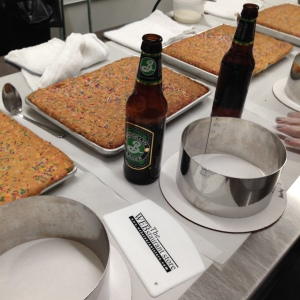 Momofuku Milk Bar Class Beer and cake