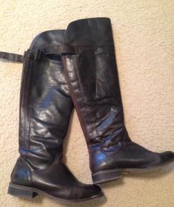 Dark Brown Hinge Boots. Love
