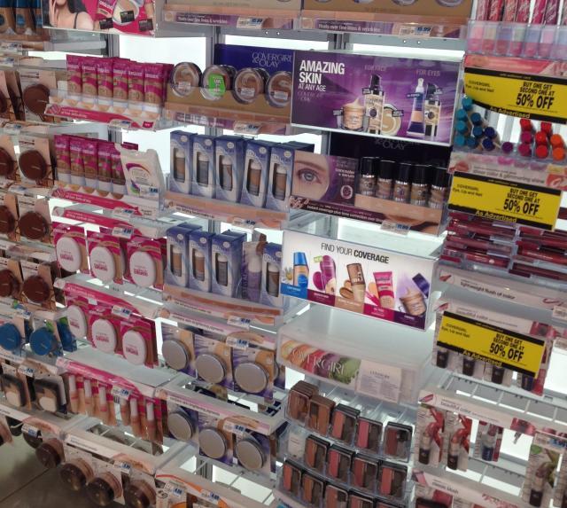 Drugstore beauty heaven