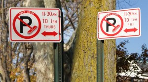 street-clean-signs