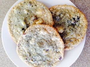 blueberries and cream cookies