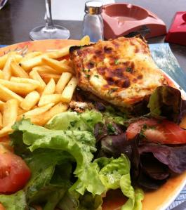 Croque Monsieur at Bistrot in Maintenon