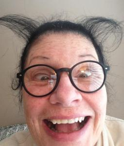 I'm a devilish old lady and I have the horns to prove it!