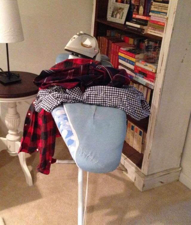 ironing is my zen