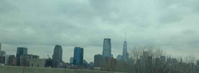 towards the city