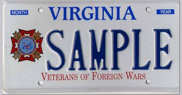 Va license plates