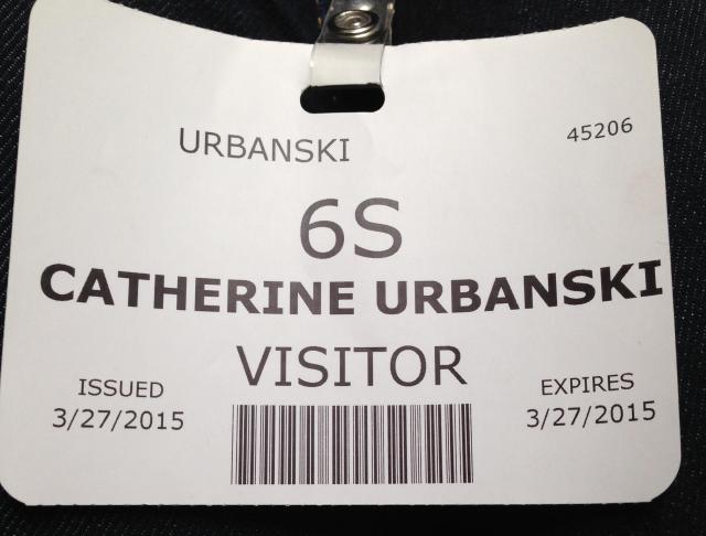Visitors pass for backstage antics