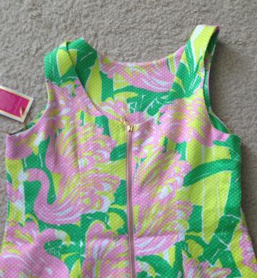 Back zipper detail