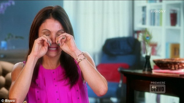 bethenny crocodile tears