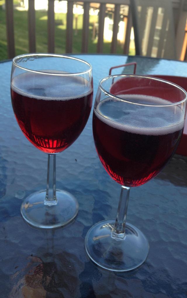 First outdoor aperitif of 2015