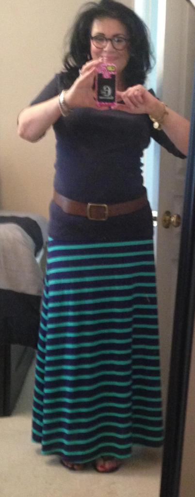 Maxi with belt