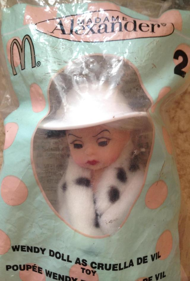 Mcdonalds happy meal madame alexander doll from....
