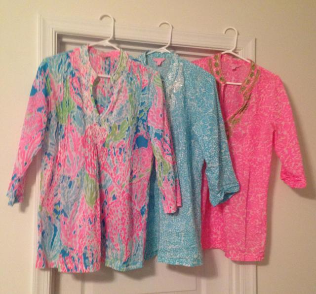 Three tunics