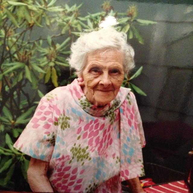 Grandma, looking lovely as ever