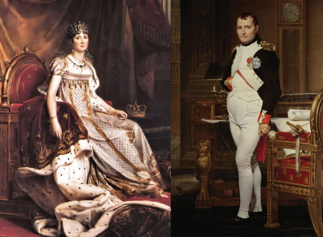 Joséphine de Beauharnais and Napoleon Bonaparte