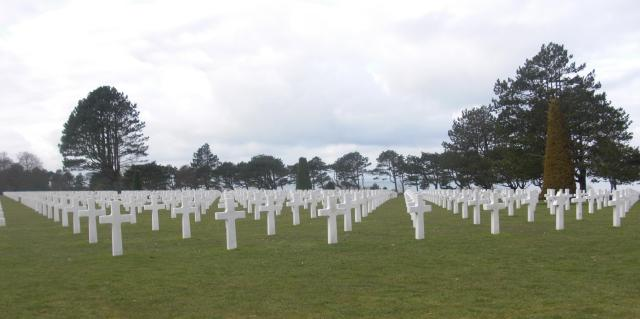 Normandy Beach More American Graves