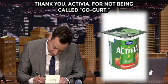 Roman's Tonight Show joke.