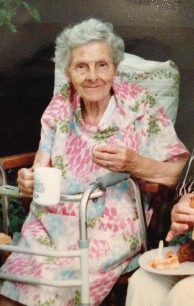 Tthe rest of us were drinking booze, grandma had her tea