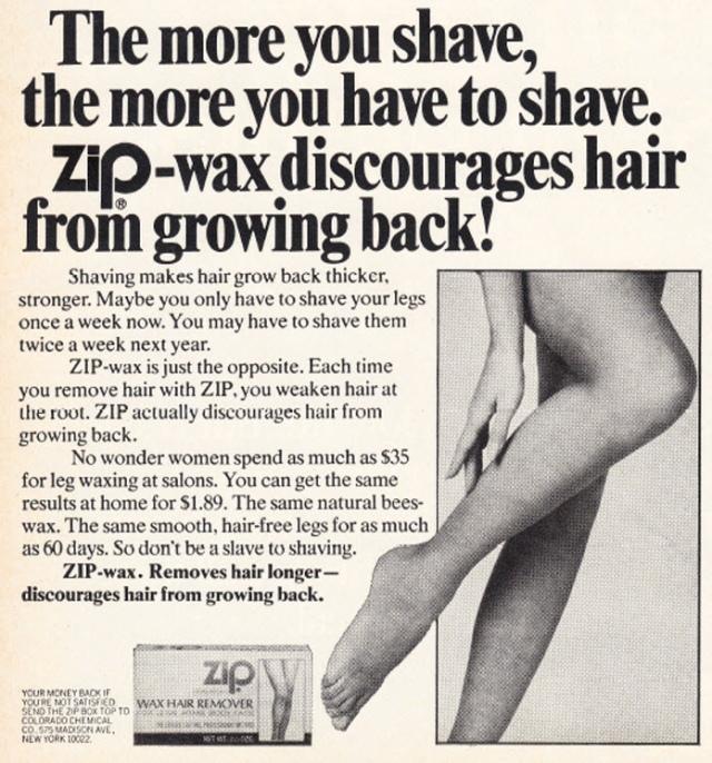 Zip Wax ad