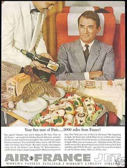 Vintage air france ad