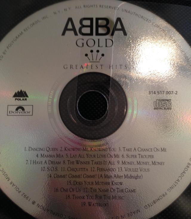 Abba. My guilty pleasure
