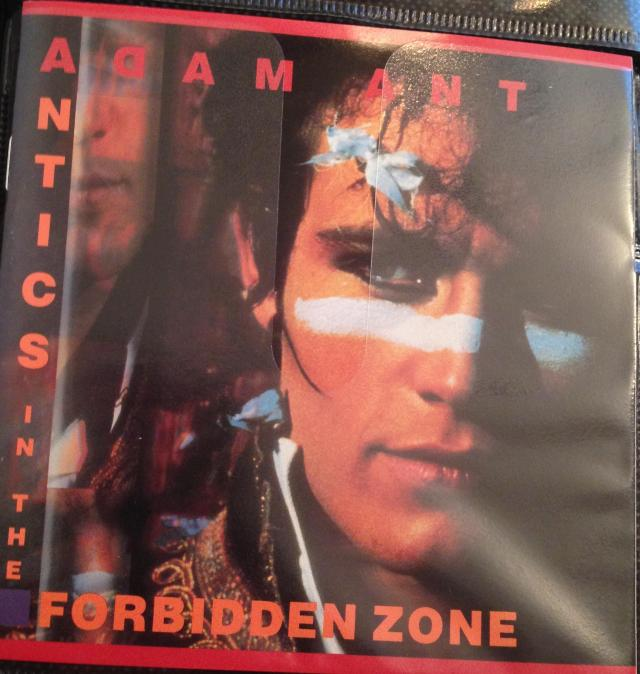 Adam Ant. I loved Ant Music and Puss n Boots. He was so naughty!