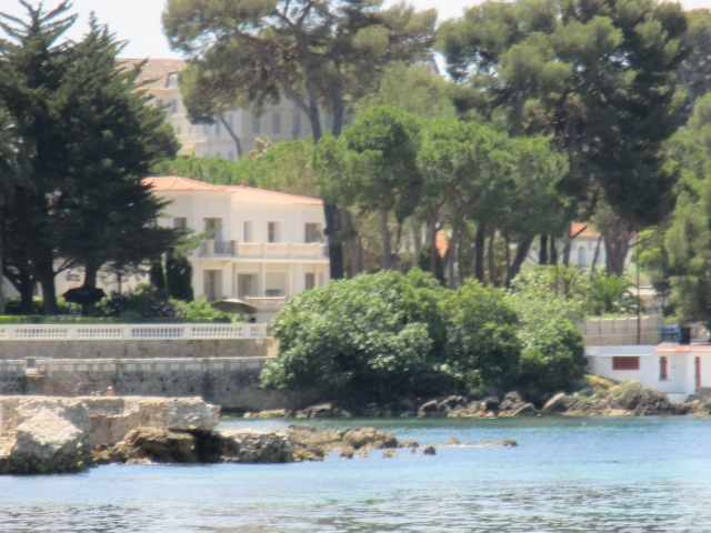 Antibes. View of house that should belong to me.