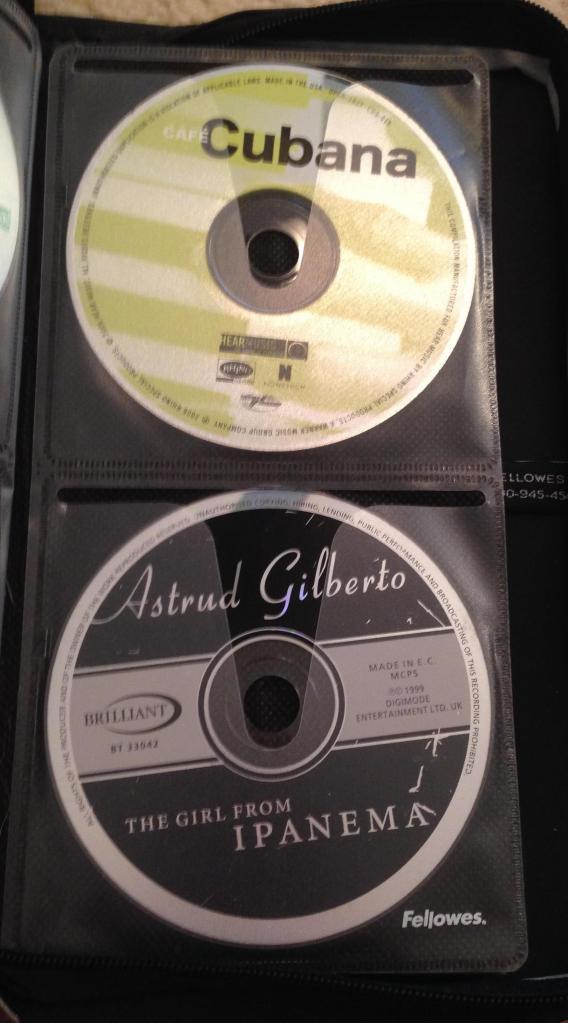 Astrud Gilberto and Cubana. Nice sensual summer evening music