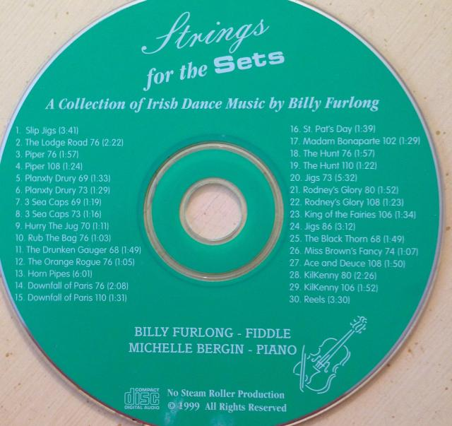 Billy Furlong Strings for the Sets