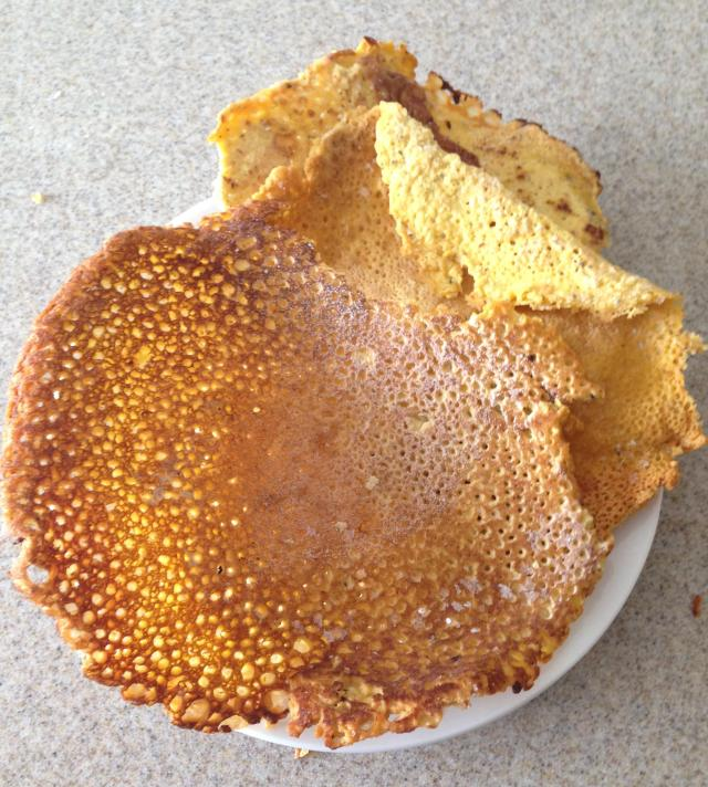 Chickpea pancakes fail