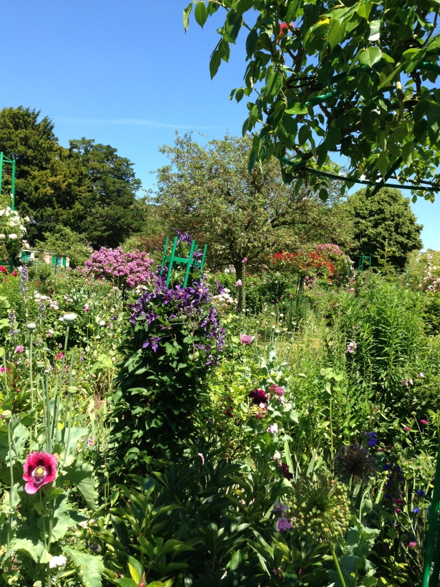 Giverny. Gardens