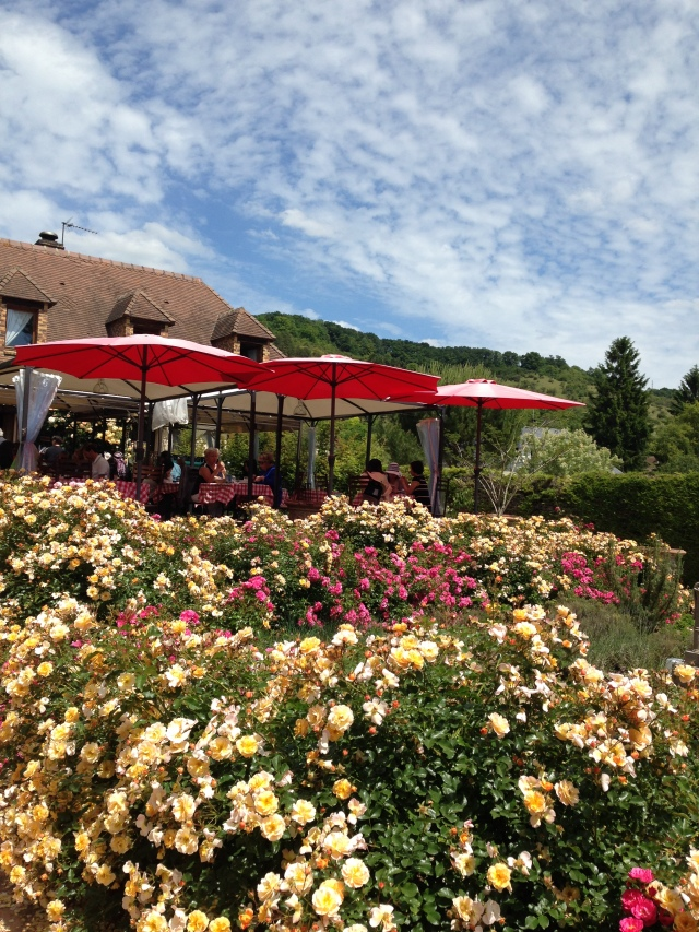 Giverny view of the little bistrot