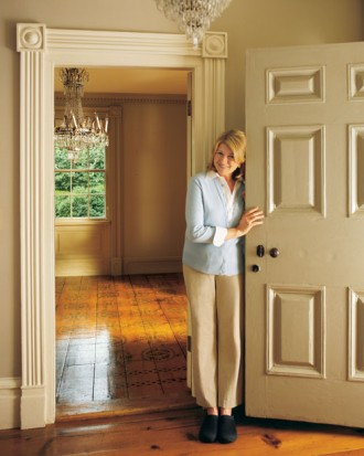 I'd be caressing my door if Ii had your home too Martha.