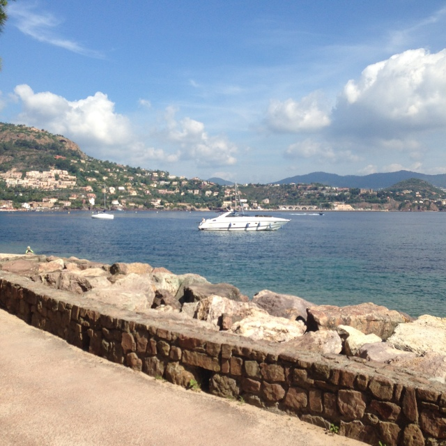 L'Aiguille. View of nice boat
