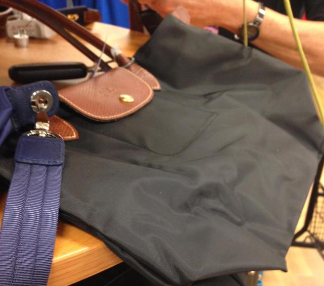 Longchamp bag at TJ mazz for 99.00
