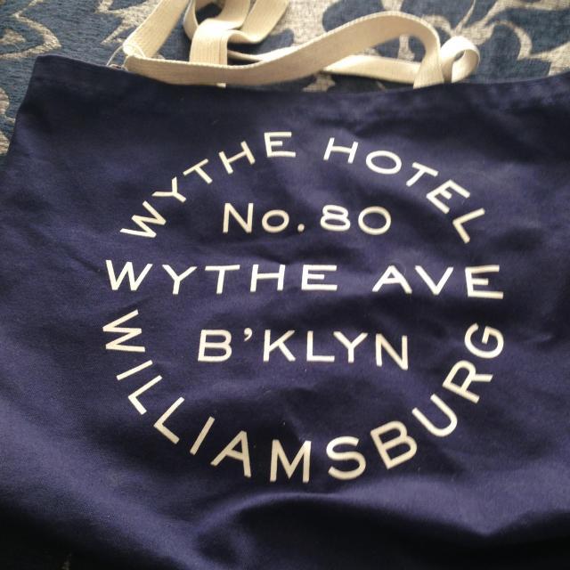 Longchamp bag wythe hotel tote