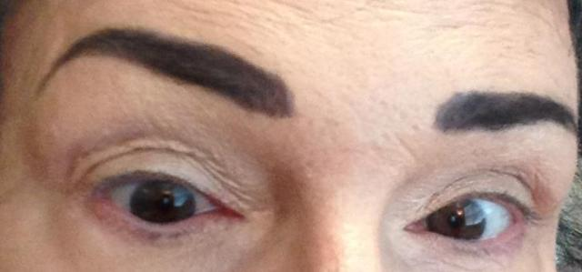 My brows need a bikini wax.