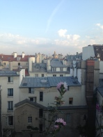 Paris. Daniele's Apt. Last View I'll have till next year!