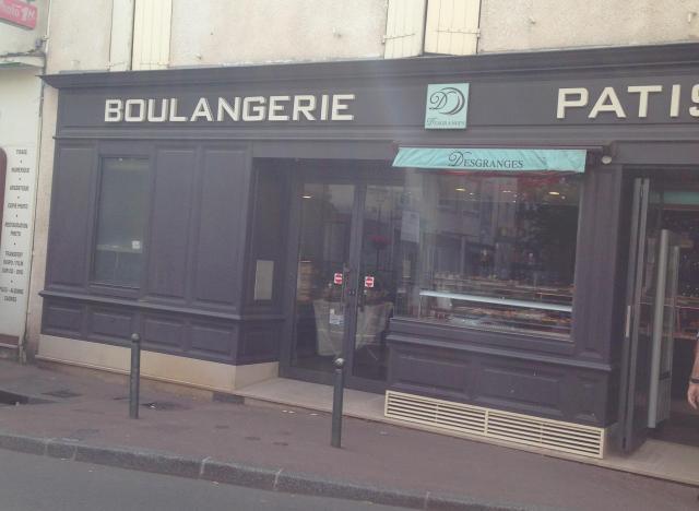 Paris. Desgranges in Garches. Best Bread.