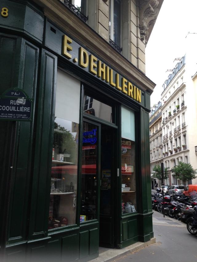 Paris. E. Dehillerin!
