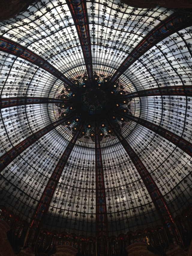 Paris. Galeries Lafayette. Ceiling Dome 2