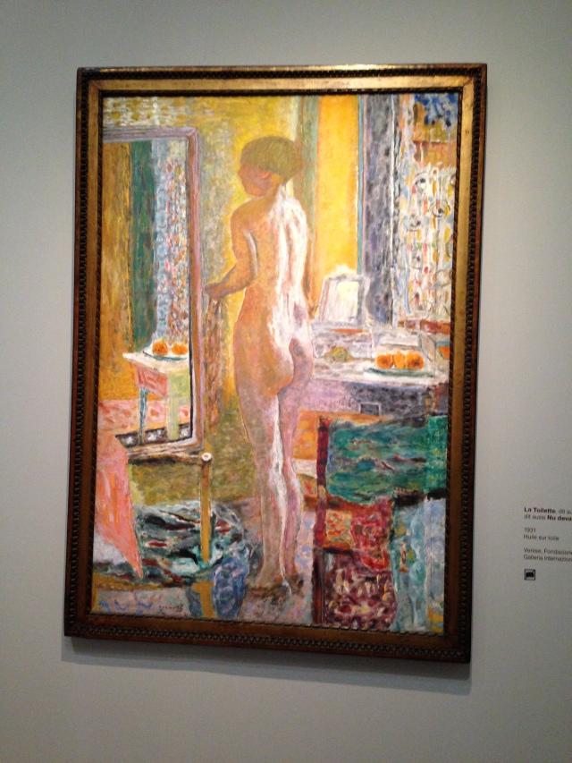 Paris. Orsay. Bonnard nude 1