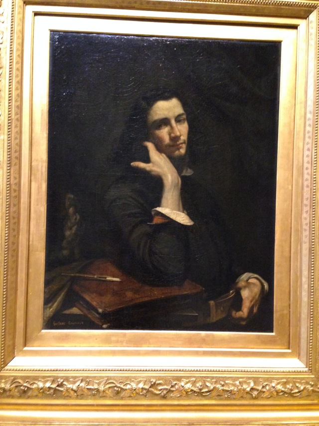 Paris. Orsay. Gustave Courbet Self Portrait. One of my favorite painters!