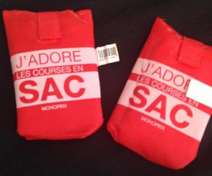 Shoppng. Monoprix Shopping sacs!