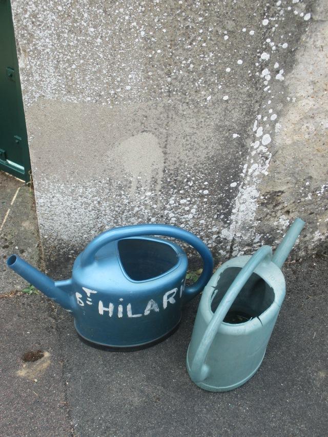 St. Hilarion. Water buckets.