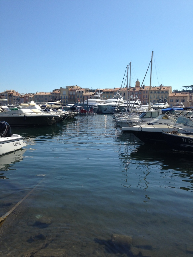 St. Tropez. Boats in the harbor.