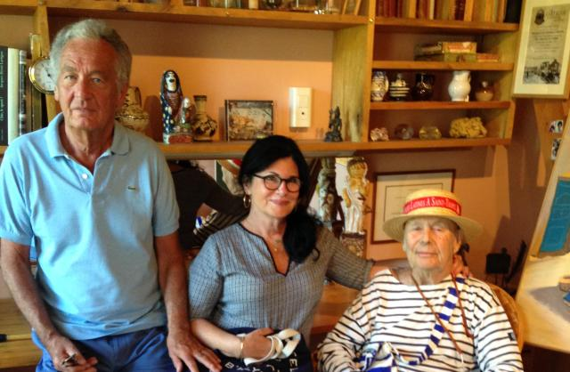 St. Tropez. La Maison des Papillions. The Three Musketeers of St. Trop!