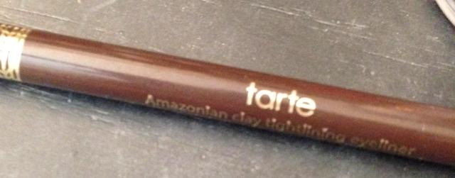 Tarte Amazonian Clay Eyeliner that I used on my brows.