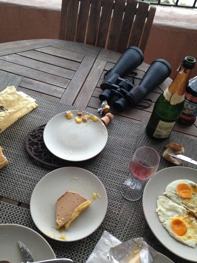 Theoule. Dinner Still life.