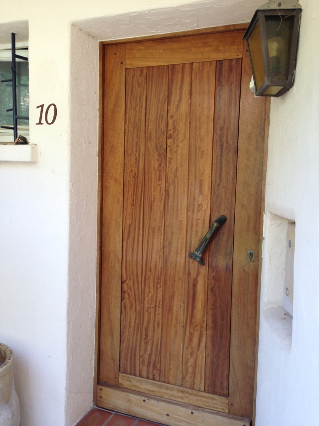 Theoule. Number 10. Our Apartment Door!